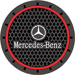 2 Pcs Car interior Anti Slip Cup Mat for Mercedes Benz Interior Accessories(2.75 Inch)