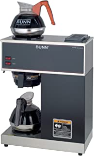 BUNN VPR-2EP 12-Cup Pourover Commercial Coffee Brewer Plus 2 Easy Pour Commercial Decanters