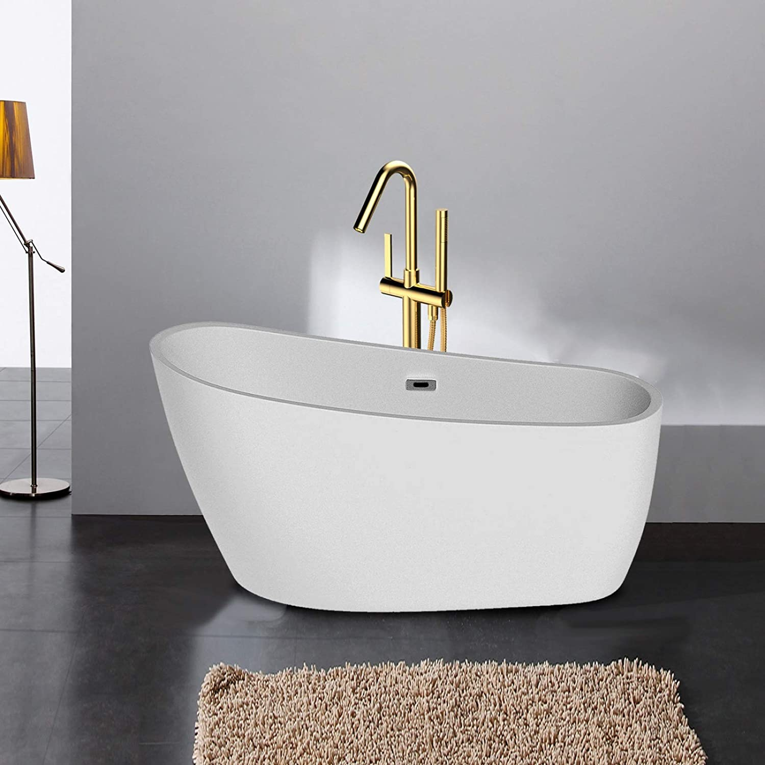 Freestanding Acrylic Bathtub Houston Online limited product Mall Du Modern with