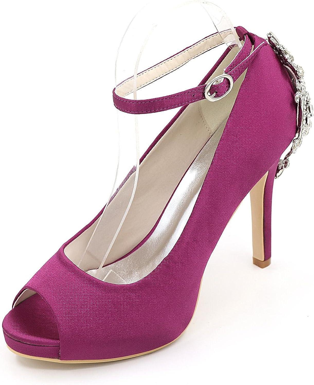 L@YC Women's Wedding shoes High Heels Peep Toe Sandals Wedding Party & Evening Wedding shoes