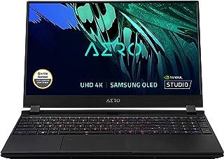 CUK AERO 15 OLED by Gigabyte 15 Inch Creator Notebook (Intel Core i7, 64GB RAM, 2x2TB NVMe SSD, NVIDIA GeForce RTX 3080 8G...
