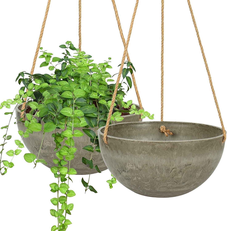 VICHOCCA Hanging Seasonal Wrap Introduction Planter 10 Inch Pot Plant Ultra-Cheap Deals Basket Flower