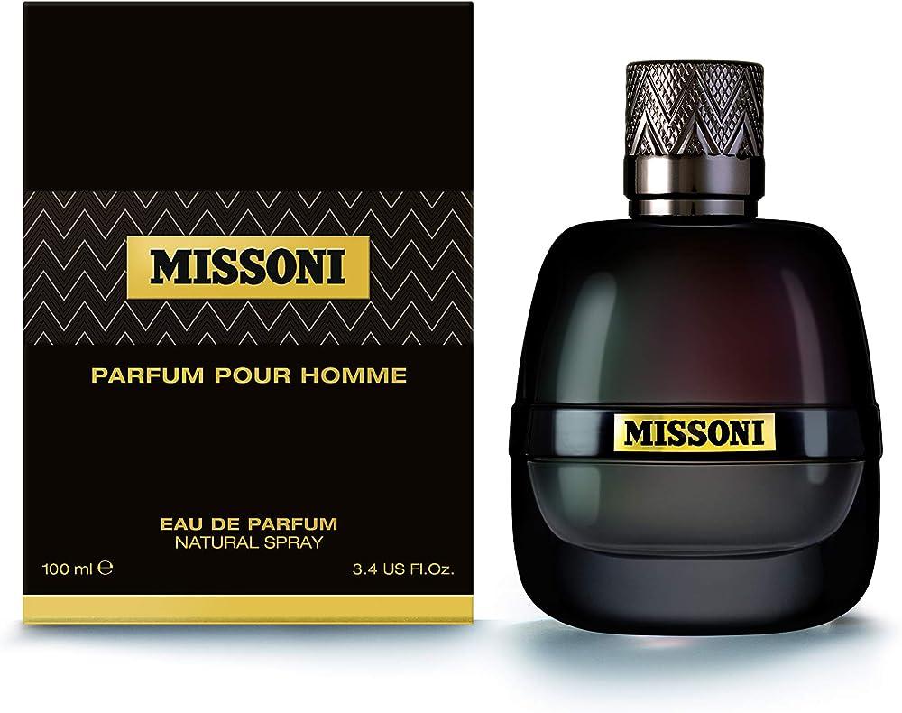 Missoni, eau de parfum,PROFUMO  per uOmo,100 ml 8011003838493