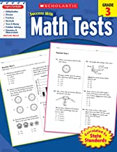 Download Scholastic Success with Math Tests, Grade 3 (Scholastic Success with Workbooks: Tests Math) PDF