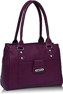 Aisna Women's Handbag (ASN-135_Purple)