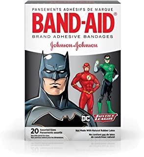Band-AID Justice League Bandages - First Aid Kit Supplies - 2 Boxes per Unit
