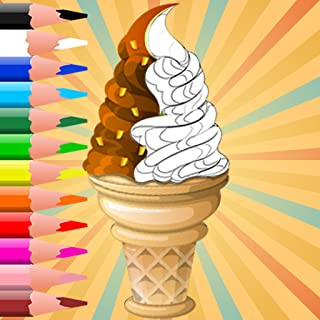 Ice Cream Coloring Book