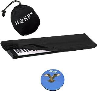 HQRP Elastic Keyboard Dust Cover for M-Audio Code 61, Oxygen 61 MK IV, Keystation 61 II, Axiom AIR 61, Axiom 61, Axiom Pro 61 Digital Piano Synthesizer + HQRP Coaster