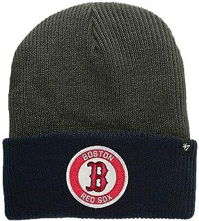 new concept 8326e 063b0  47 Brand 2-Tone Ice Block Cuff Beanie Hat - MLB Cuffed Winter Knit ·