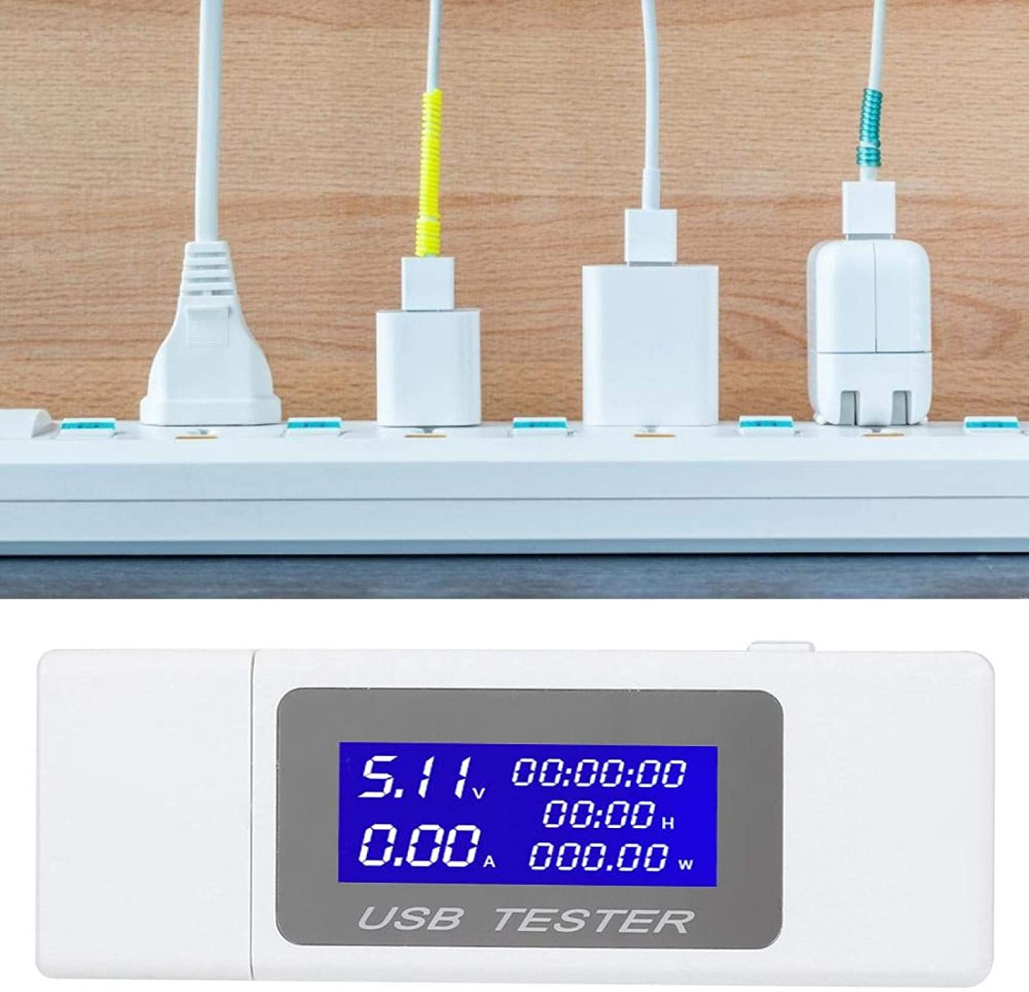 At the price online shop of surprise USB Tests High Safety Convenient Meter Current Voltage Easy