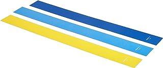 Amazon Basics Latex Resistance Band - 1500mm, 3-Piece Set