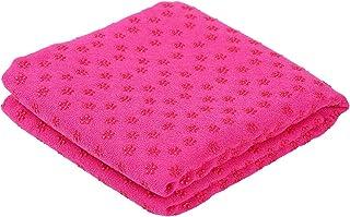 Nishore Yoga Mat Towel Non-Slip Sweat Absorbent Yoga Mat Soft Hot Yoga Towel