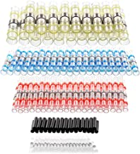 Solder Seal Wire Connectors Self-Solder Heat Shrink Butt Connector Waterproof Insulated Electrical Butt Splice Wire Termin...
