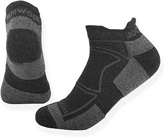MERIWOOL 2 Pairs No Show Merino Wool Cushion Athletic Socks