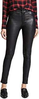 PAIGE Women's Hoxton Stretch Leather Pants