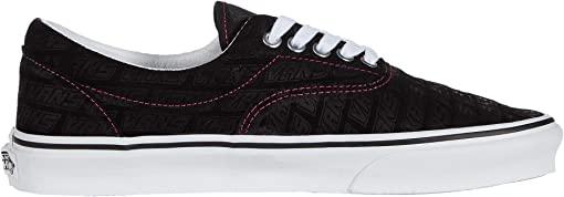 (Vans Emboss) Black/True White