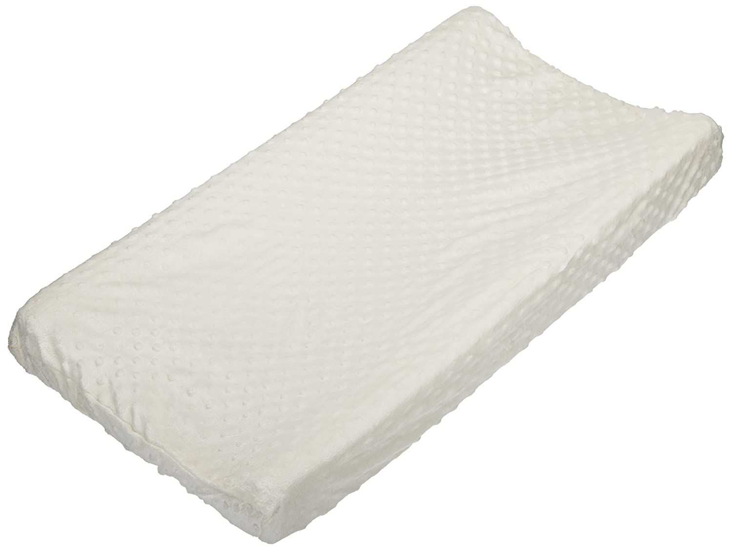 Carters Super Soft Dot Changing Pad Cover, Ecru (Discontinued by Manufacturer)