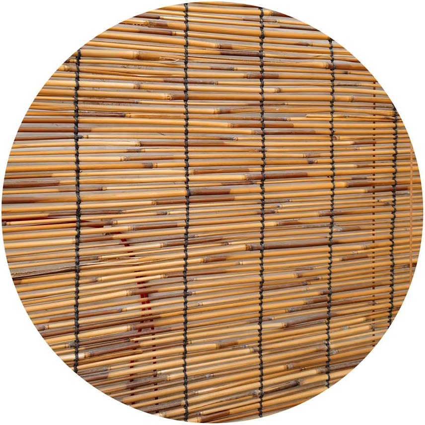 Bamboo Roller Blinds for Limited price Window Patio In stock Semi-Shading Shade Natural