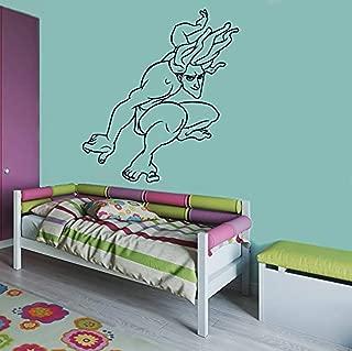 Tarzan Wall Poster Cartoon Walt Disney Vinyl Picture Tarzan Wall Vinyl Decal Decor for Home Child Kids Room Graphic Baby Nursery SC1