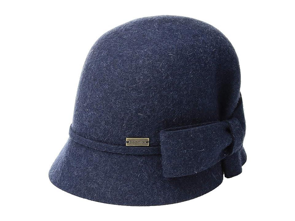 1920s Style Hats Betmar Dixie Denim Mix Caps $55.00 AT vintagedancer.com