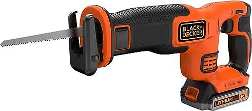 Black + Decker bdcr18m1-qw sierra sable sin fil-18V-1,5AH-1batterie-1hoja de 140mm