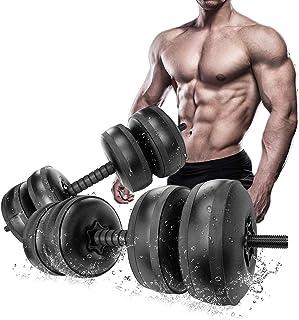Size:5kg // 11lb Mancuernas Grandes 2 En 1 Pesas Libres Ajustables Para Equipos De Mancuernas De Entrenamiento Muscular De Gimnasio En Casa Equipo De Entrenamiento Corporal Antideslizante Para Hombre