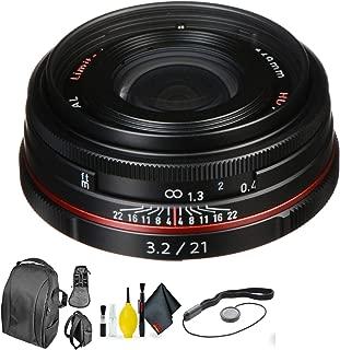 PENTAX HD-DA 21MM f/3.2 AL Black + Deluxe Lens Cleaning Kit