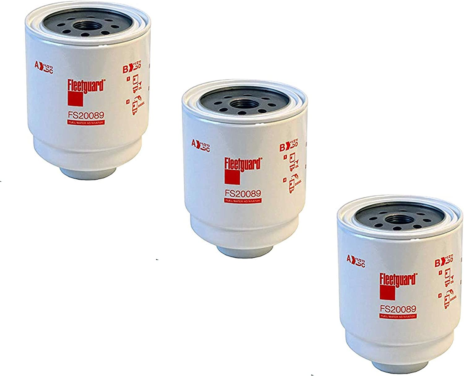 FS20089 Fleetguard Fuel Water 3 Pack High order Separator of Recommendation