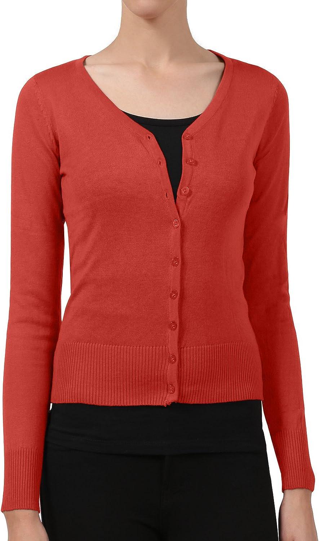 NE PEOPLE Womens Light Weight Soft See-Through V Neck Cardigan Sweater