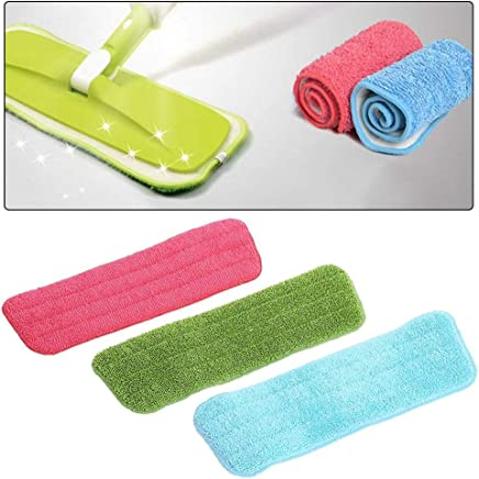 Swastik Microfiber Spray Mop Replacement Head Pads - Set of 3