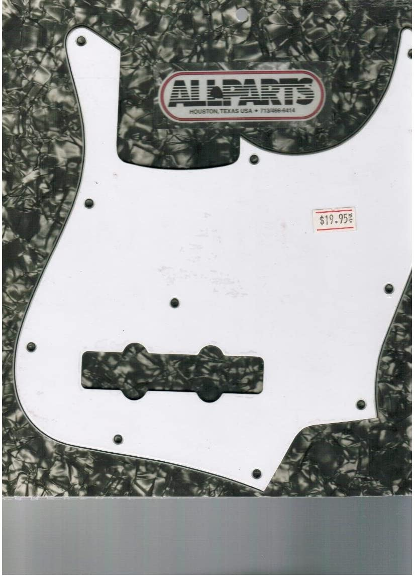 Allparts White Jazz Pickguard NEW before Now free shipping selling ☆ Bass