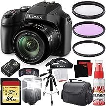 Panasonic Lumix DC-FZ80 Digital Camera + Carrying Case + 64GB Memory Card Bundle