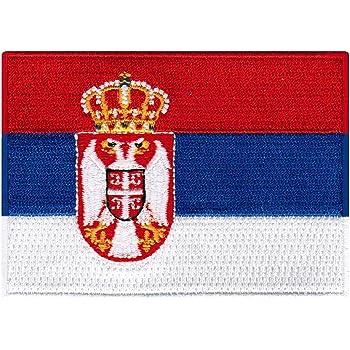Slovenia Ljubljana Flag EMBROIDERED PATCH 8x6cm Badge