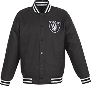 Oakland Raiders NFL Jacket Varsity Poly-Twill GEN7 Logos