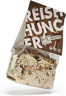 Reishunger Blitz-Risotto Fertigmischung mit Steinpilzen, 3er Pack 3 x 250 g - erhältlich als 1er bis 8er Pack