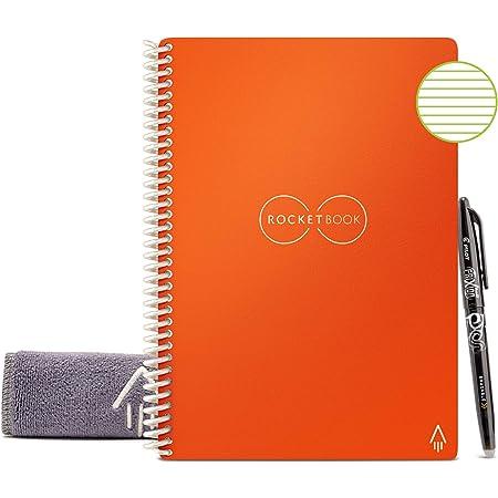 Details about  /Rocketbook Smart Reusable Notebook with 1 Pilot Frixion Pen /& 1 Microfiber Cloth