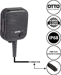OTTO Evolution Speaker Microphone for Sepura STP8000 STP9000 STP9100 STP9200 SC2020 and SC2024 Two Way Radios