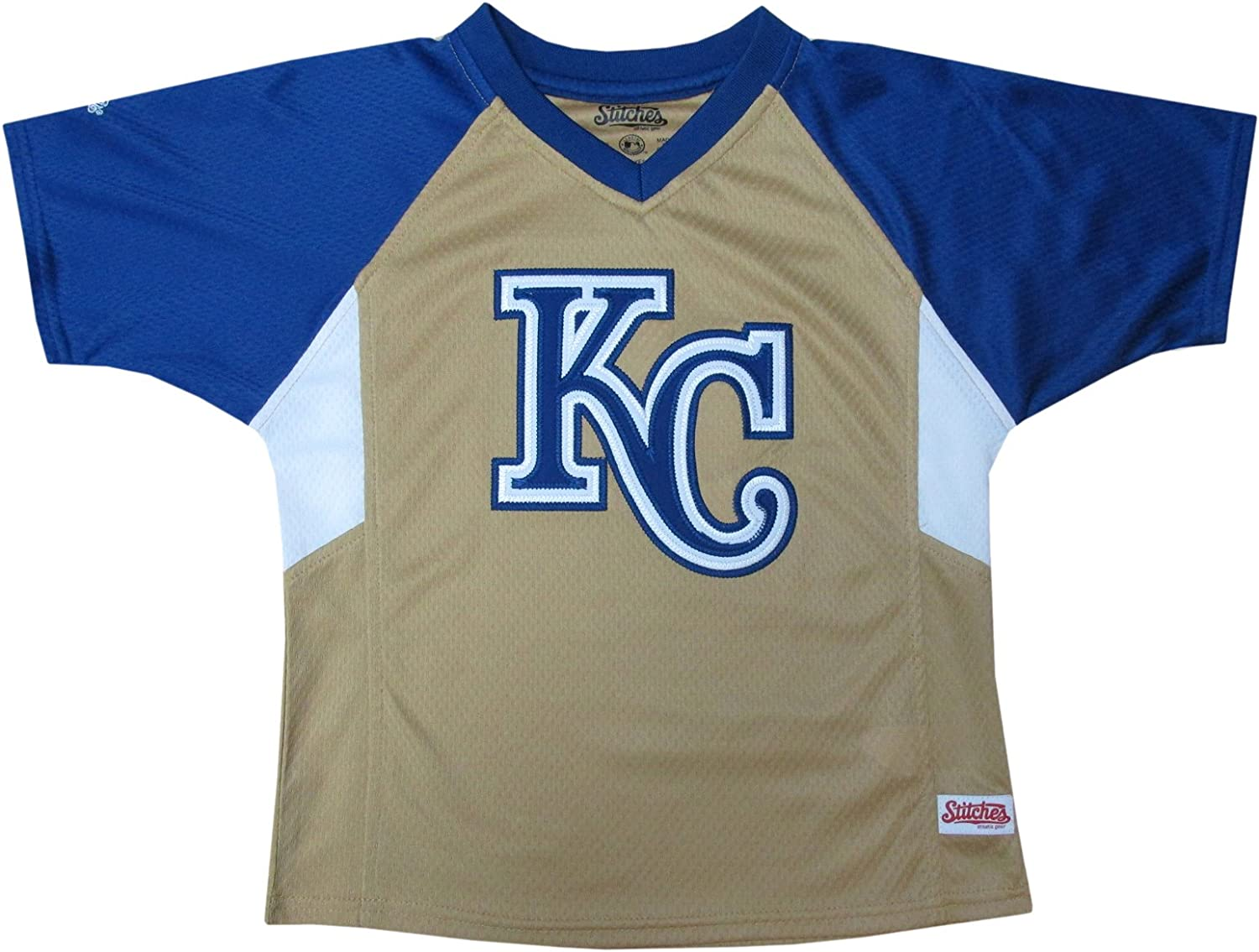 All stores are sold MLB Boy's Colorblocked Raglan Inexpensive V-Neck Shirt