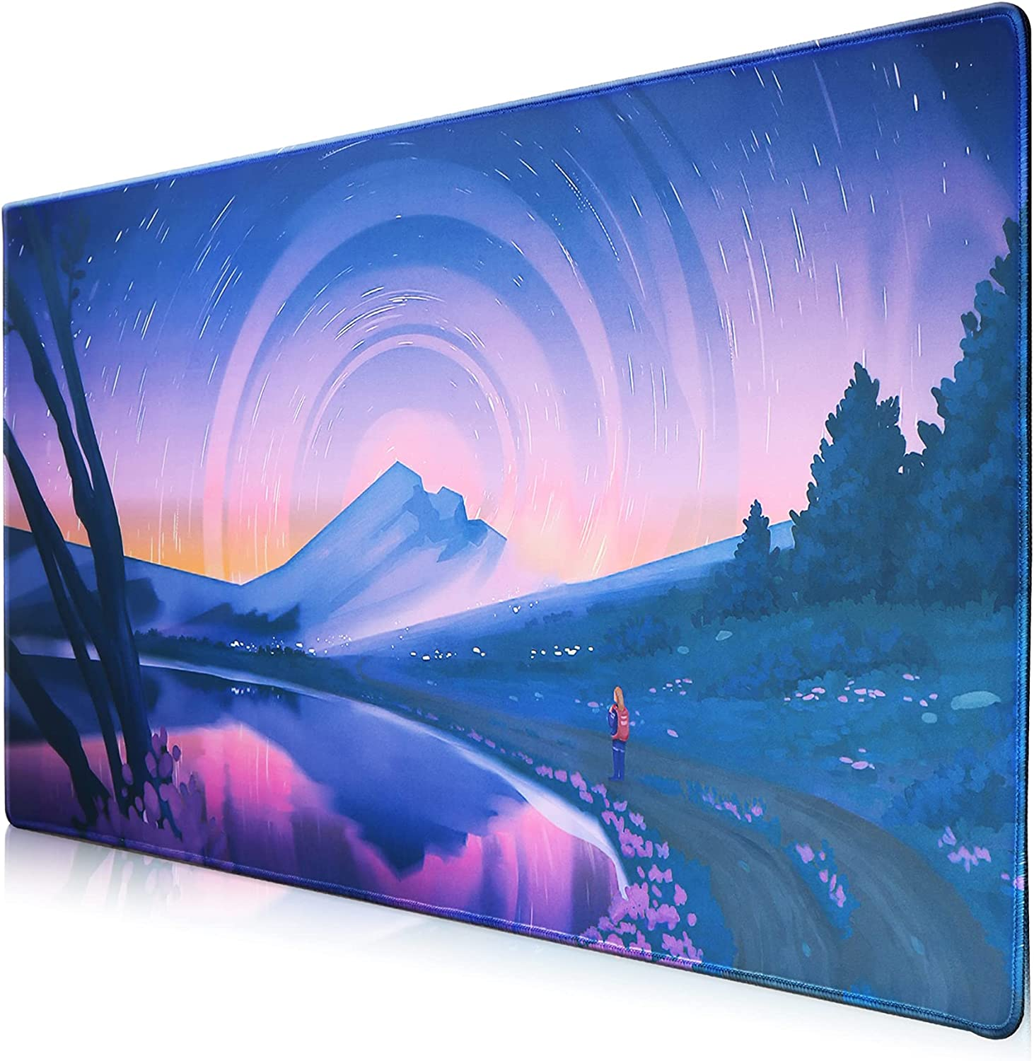 Beoesa Extended Mouse Pad Bombing new work with Comfor Base Soft Rubber Industry No. 1 Non-Slip