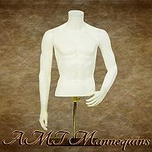 Male Mannequin Torso Headless Countertop Display