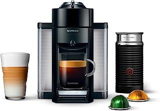 Nespresso Vertuo Coffee and Espresso Maker by De'Longhi, Piano Black with Aeroccino Milk Frother