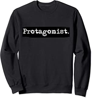 Real Life Protagonist Sweatshirt for English Nerds