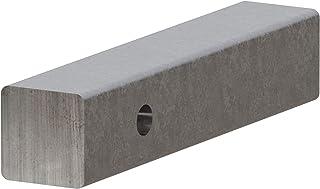 CURT 49529 2-Inch x 10-Inch Weld-On Raw Steel Trailer Hitch Bar Shank