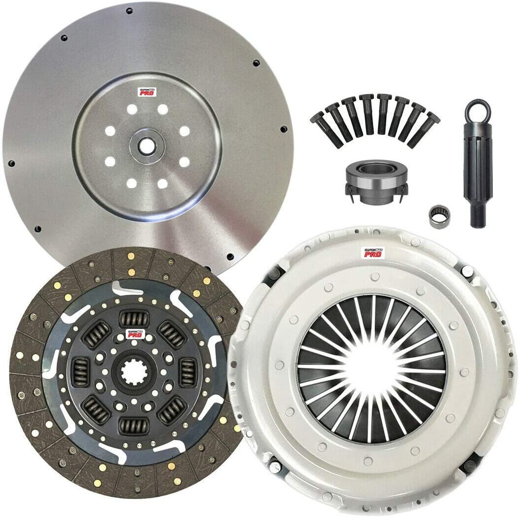 ClutchMaxPRO Performance Quality inspection Stage 2 Clutch Kit Compat Flywheel Ranking TOP14 with