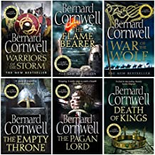 The Last Kingdom Series 6 Books Collection Set (6-11) (Death of Kings,Pagan Lord,Empty Throne,Warriors of the Storm,Flame ...
