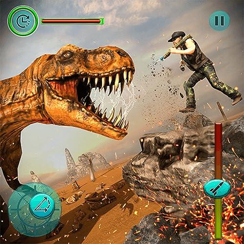 Futuristic Dinosaur Hunter Jungle Hunting Juegos de dinosaurios