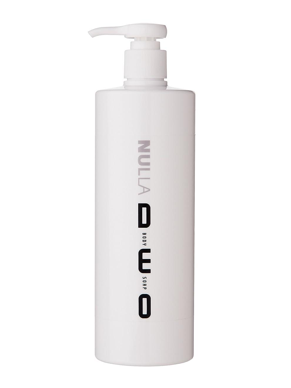豊富ヶ月目ウナギNULLA(ヌーラ) ヌーラデオ ボディソープ [ニオイ菌を抑制] 500ml 日本製 加齢臭 体臭 対策 シャボンの香り