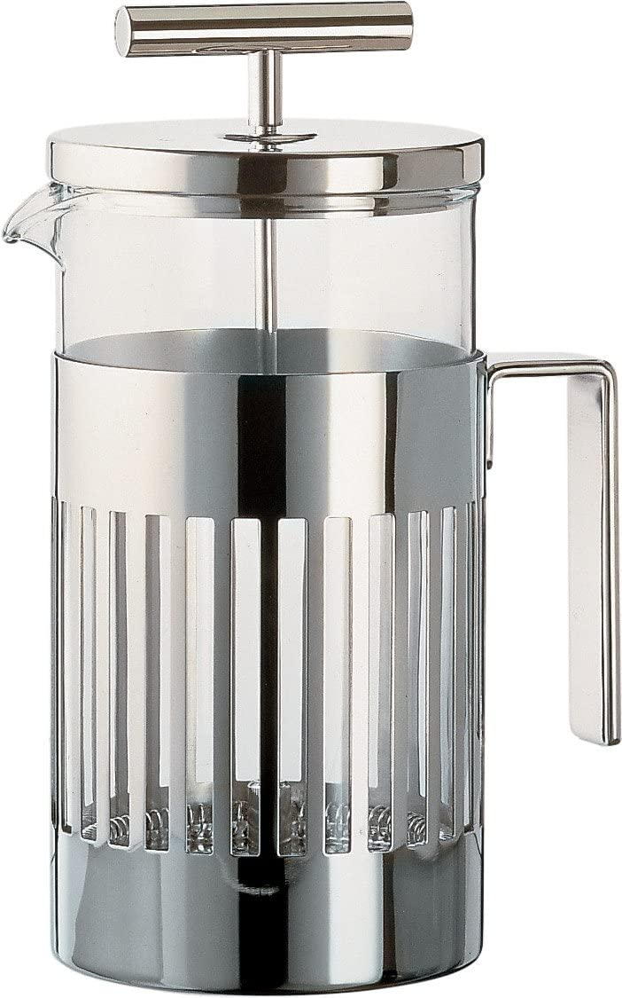 Alessi Press Filter Special price Maker Silver Coffee SEAL limited product
