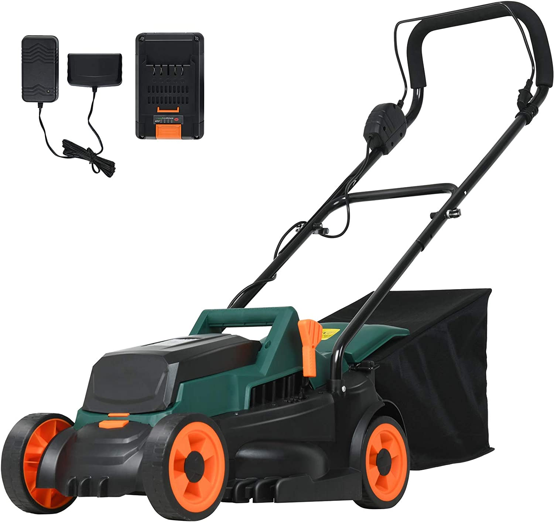 SUNCOO 40V Lawn Mower Battery 13-Inch Powered Cordless 期間限定今なら送料無料 Rotary M 割引