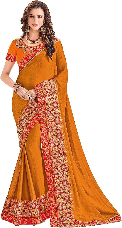 Da Facioun Indian Sarees for Women Wedding Designer Party Wear Traditional Saree.